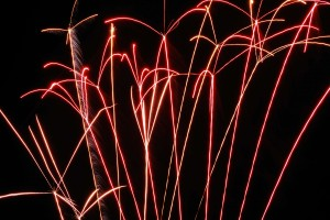 Tockwith Show Fire Works