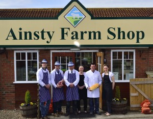 Christmas Taster Day at the Ainsty Farm Shop