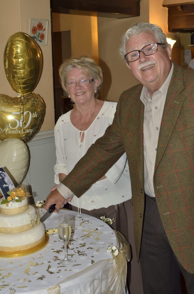 Malcolm & Rita Horner's Golden Wedding Anniversary