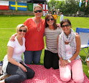 From left: Sophie Councell, Lucy Bettam, Linda Bradley and Fiona Ashford.